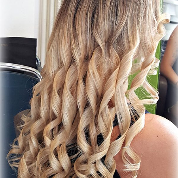 Blonde Locken