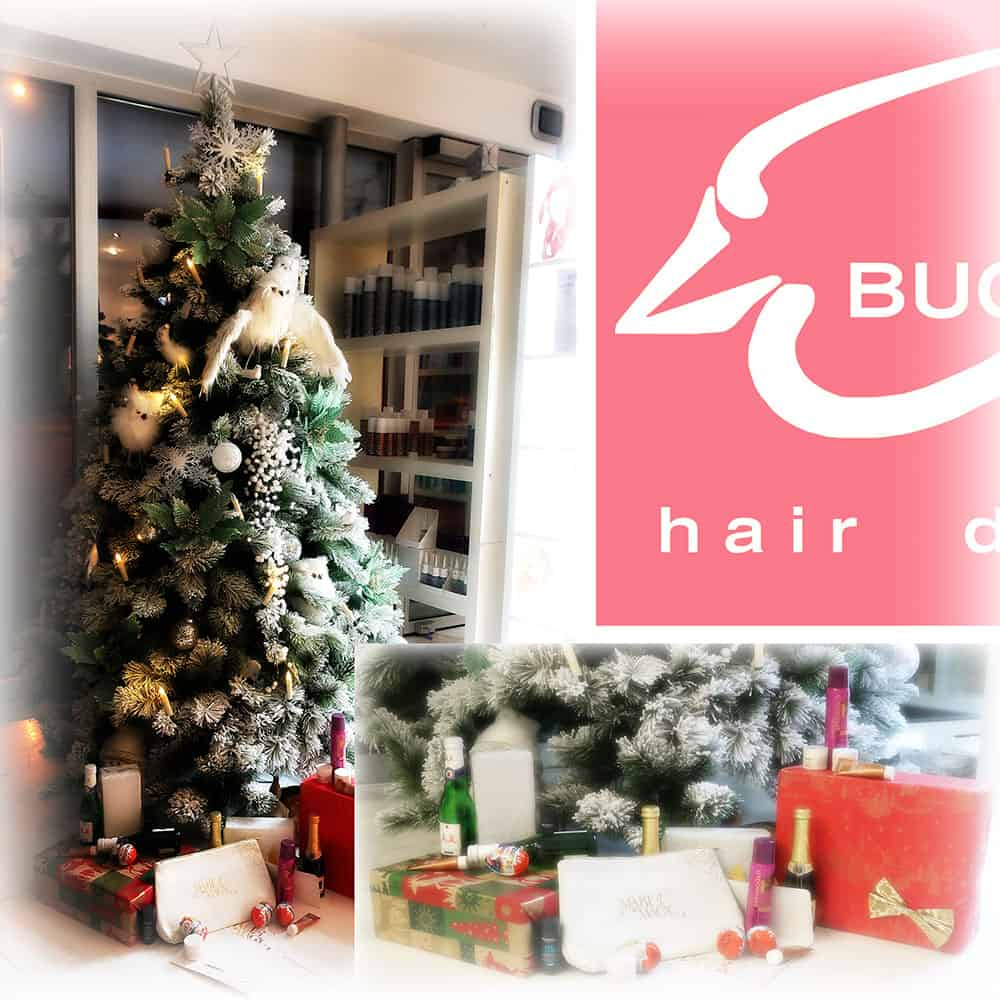 Weihnachtsgeschenke bei Buchfink hair design in der Nordweststadt  :)